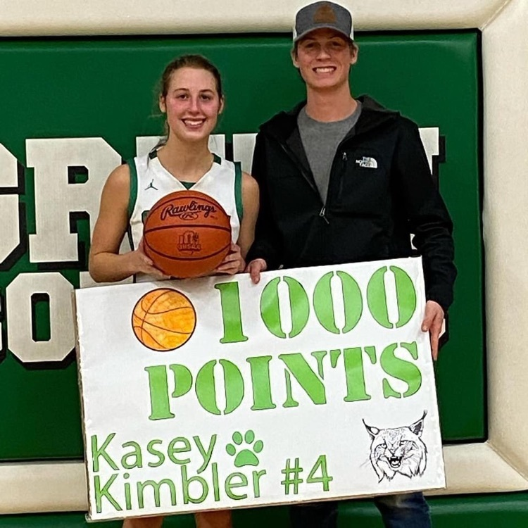 Kasey Kimbler's 1000th