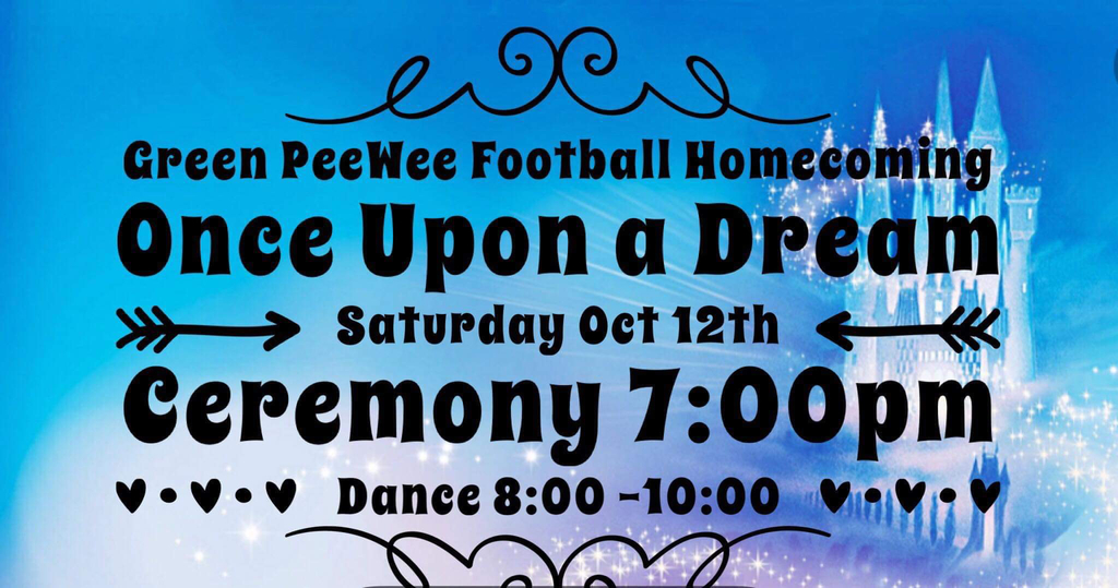 PeeWee Football Homecoming
